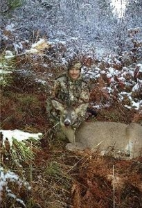 Gages First Deer - Tom Cats Idaho Whitetail Idaho Turkeys and Upland Birds