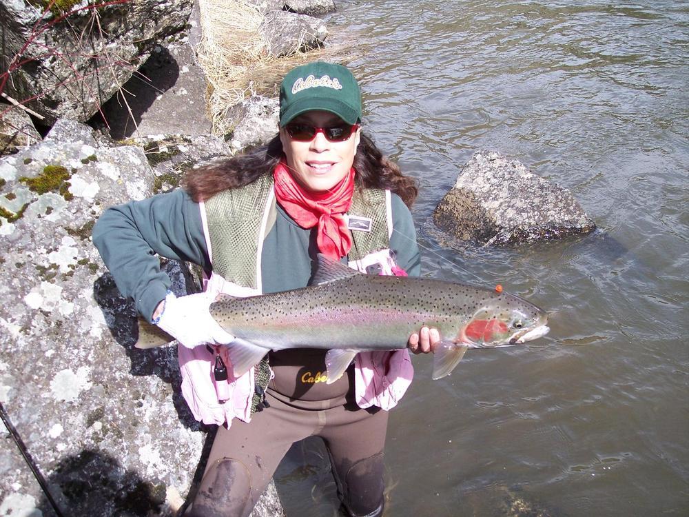 Jordan Rocha - Spring 2013 - Tom Cats Steelhead Pictures Salmon Pictures