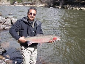 Rene Rocha - Spring 2013 - Tom Cats Steelhead Pictures Salmon Pictures