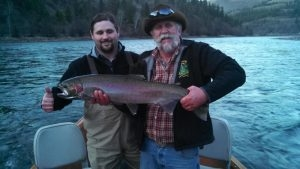 Tims Biggest Steelhead - February 2013 - Tom Cats Steelhead Pictures Salmon Pictures